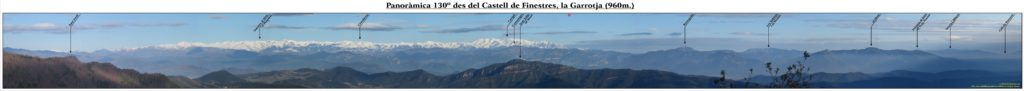 Panoràmica 130º Castell de Finestres