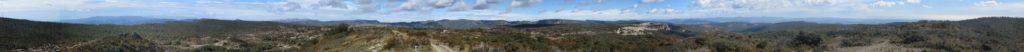 Panoràmica 360º cim Puig Pelat