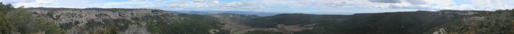 Panoràmica 360º cim Punta del Barrina