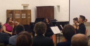 La canción del torero, J. Turina - Violí, violí, viola i violoncel