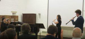 Trio: Andante semplice, M. Dring - Flauta, oboè i piano