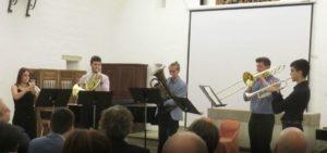 Quintett b-moll po. 5, V. Ewald - Trompeta, trompeta, trompa, trombó i bombardi