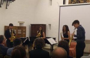 Libertango, A. Piazzolla - Saxo soprano, saxo alt, saxo tenor i saxo bariton