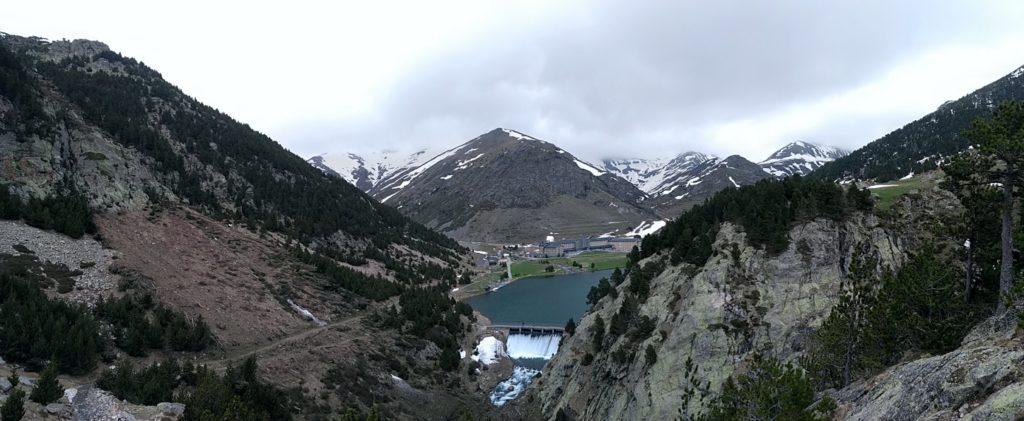 Vall de Núria des del Mirador