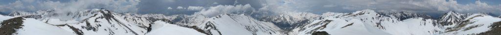 Panoràmica 360º Pic Fossa Gegant