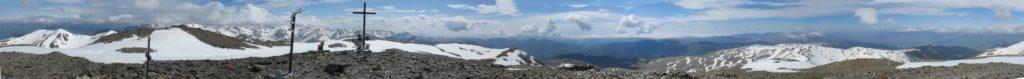 Panoràmica 360º cim del Puigmal