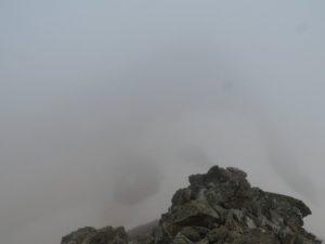 Enfront, pujada cresta al Perdiguero