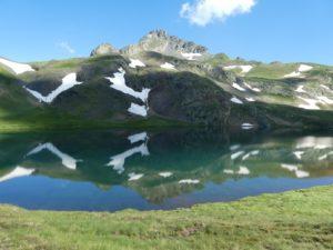 Lac de Montoliu i Tuc de Maubèrne