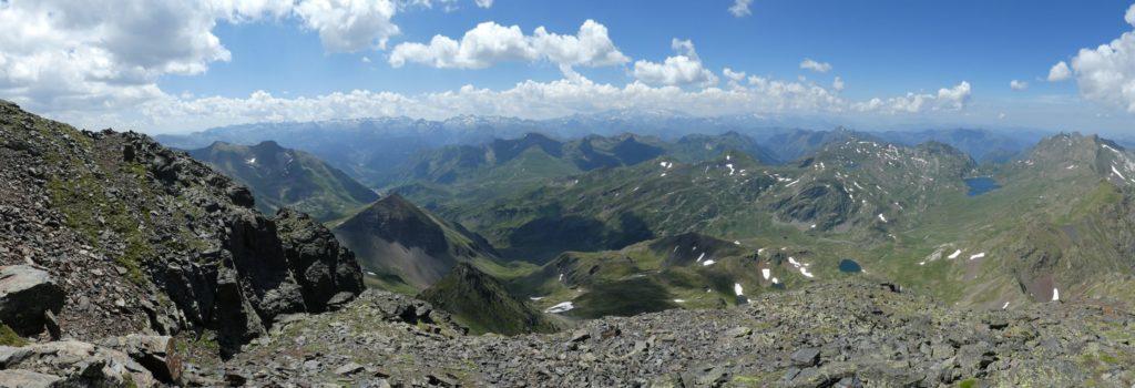 Panoràmica cims Pirineus