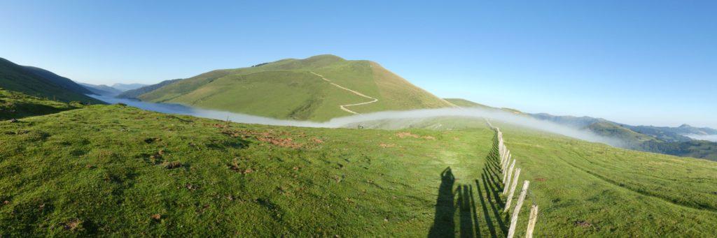 Coll d'Aztakarri i Iturrunburu darrera