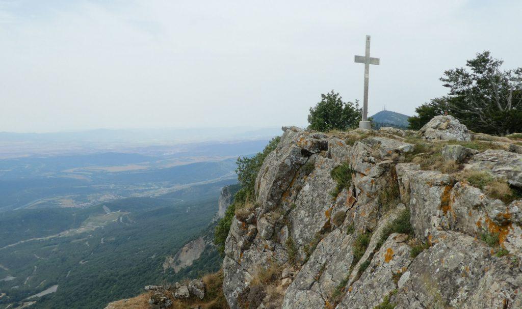 Cim Castella i al fons l'Arangoiti
