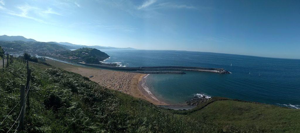 Platja Zumaia i costa Cantàbric