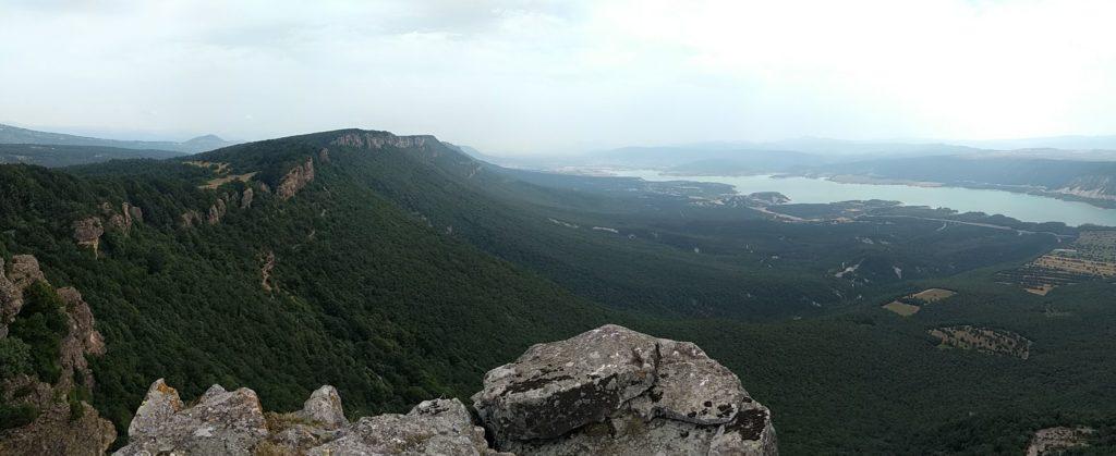 Serra Leyre des del Castellar