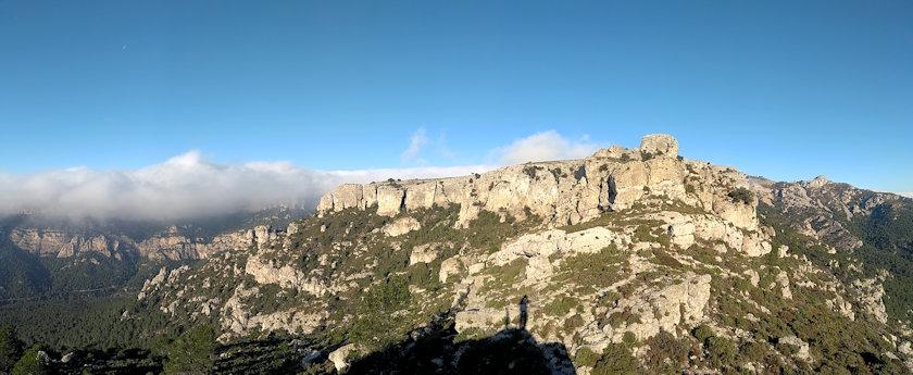 Cresta de la Seda i cingleres de Mont-redon