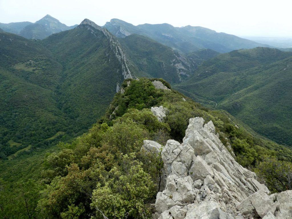 Cresta del Gall, cresta de Ferran, coll de Talaixà i Bassegoda