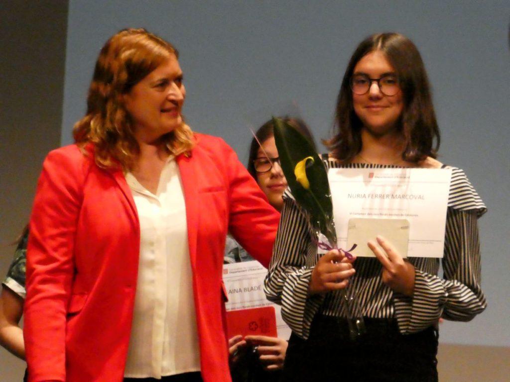 """La """"finalista"""" comarcal en la seva categoria"""