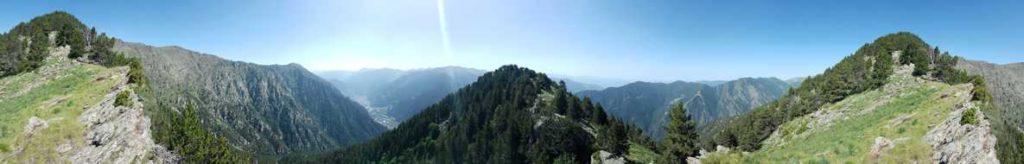 360º, Coll d'Obac i vall del Valira