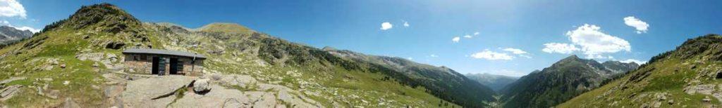 360º, Vall de Ransol i refugi dels Cóms del Jan