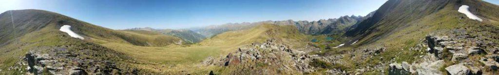 360º, Estanys del Siscaró i Pas de les Vaques