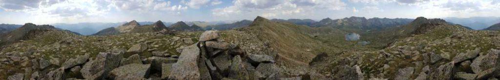360º, Collada de Pessons i vall de Madriu