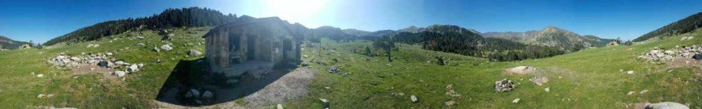 360º, Vall i refugi de Perafita