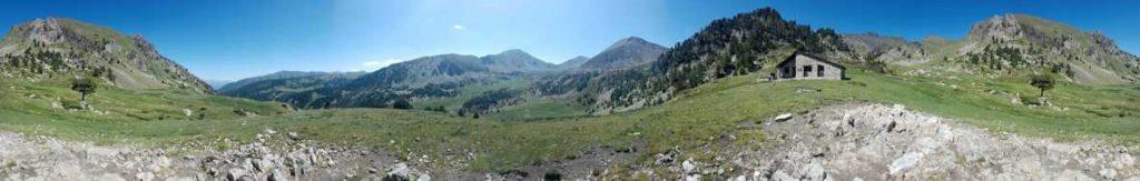 360º, Vall i refugi de Claror