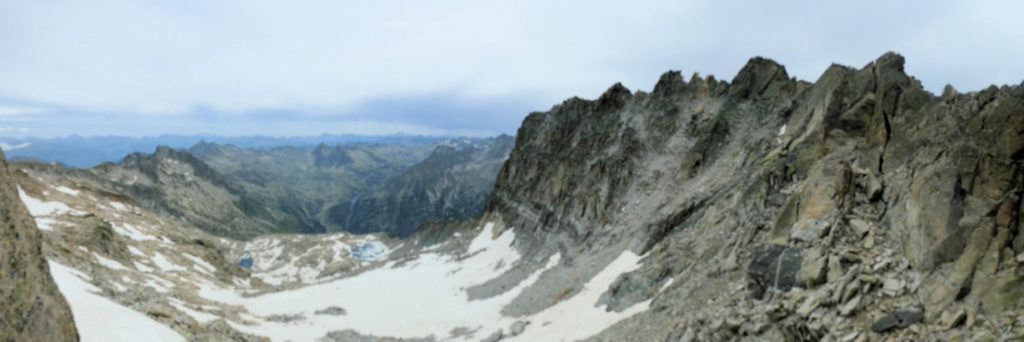 Vista des del collet de la Cresta