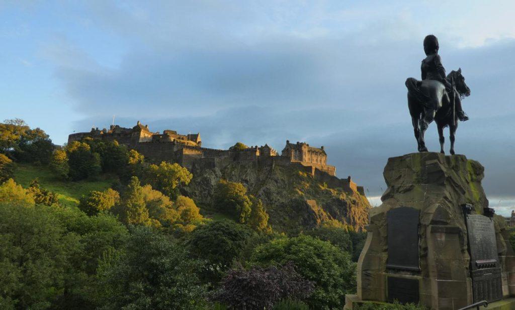 Castell Edimburgo