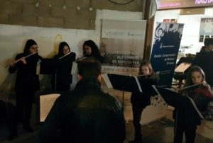 El concert del conjunt de flautes