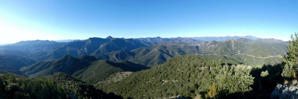 Panoràmica del Puig de la Gavarra