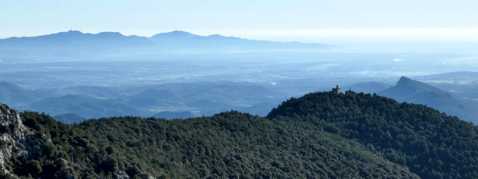 L'Alt Empordà, la serra Verdera i Santa Maria de Fau