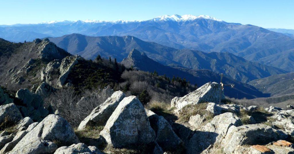 El Roc de Frausa i el Canigó
