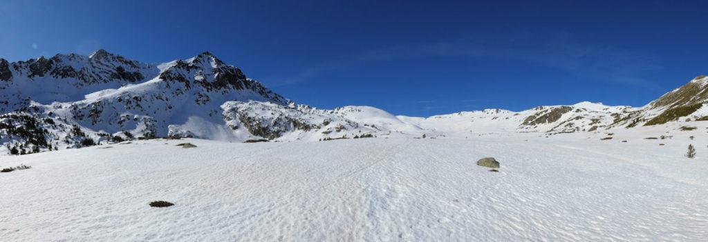 Portella Blanca d'Andorra i pic de la Portella