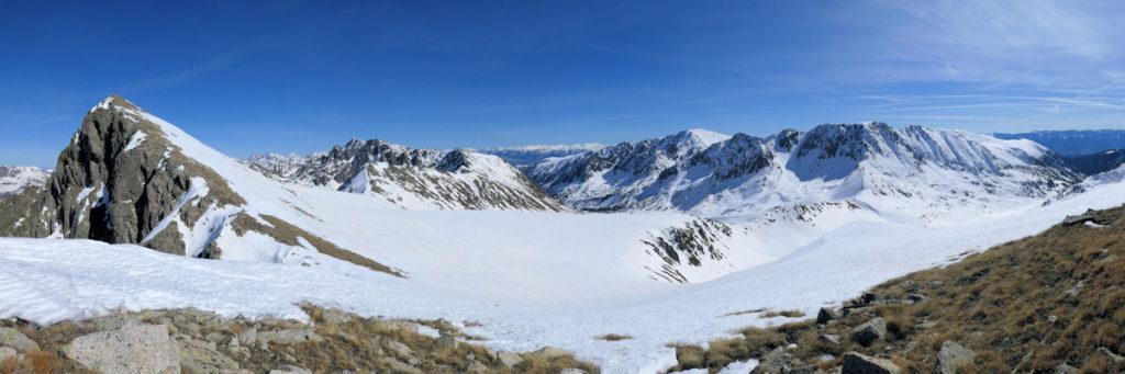 Vall de CAmpcardós, a l'esquerra pic d'Envalira