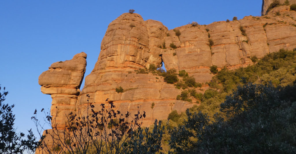 La Roca Foradada i la Cadireta