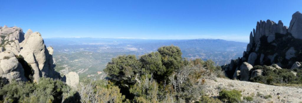 Els Pirineus des del coll de Canal Plana