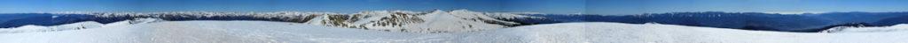 Panoràmica 360º des del pic Monturull