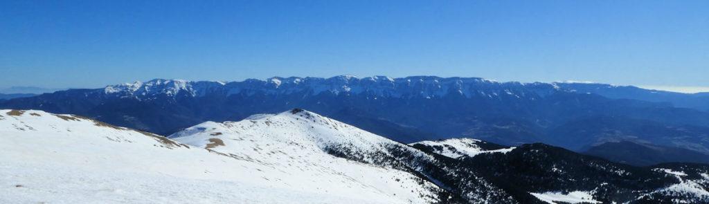 Serra del Cadí des de Monturull