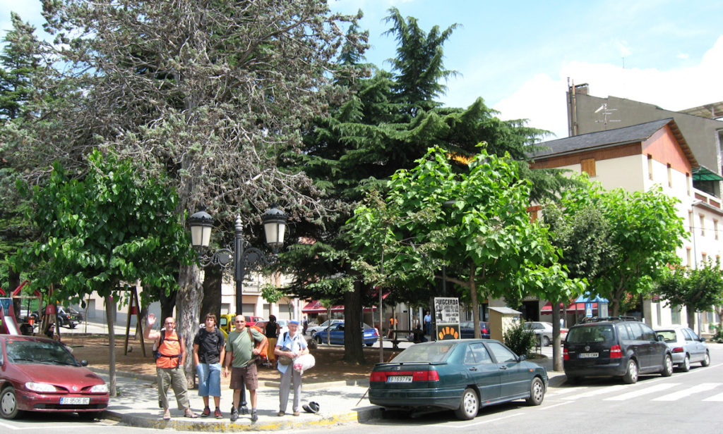 2008, inici caminada Puigcerda