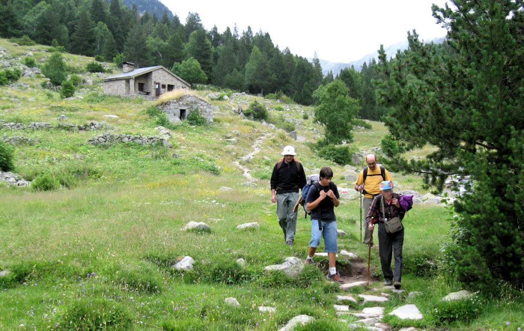Refugi Fontverd, a la vall de Madriu